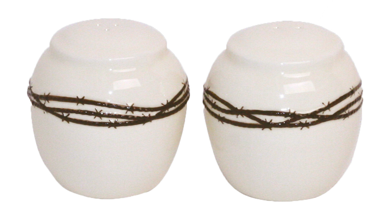 Barbwire Salt and Pepper