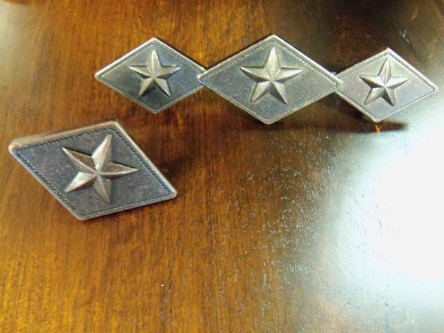 Orbit Bronze Star and Diamond Cabinet Pull