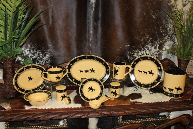 Western Dishware Black Brands
