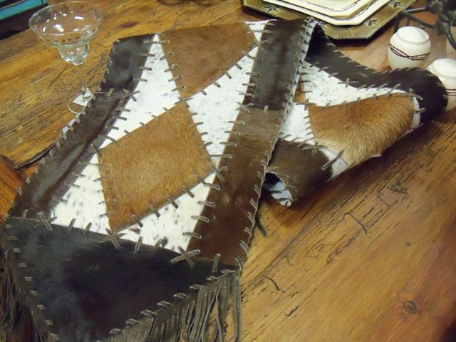 Diamond Cowhide Runner