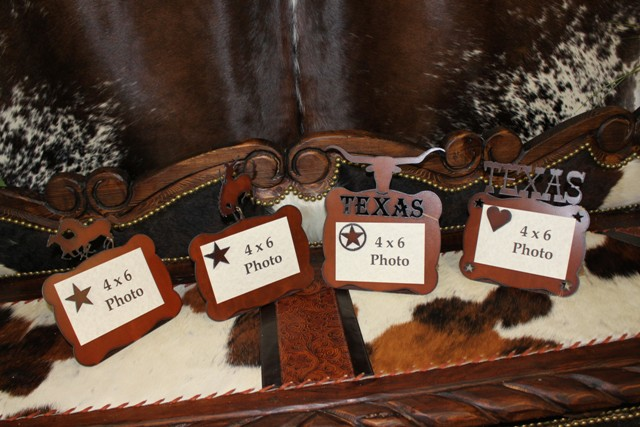 Western metal photo Frames