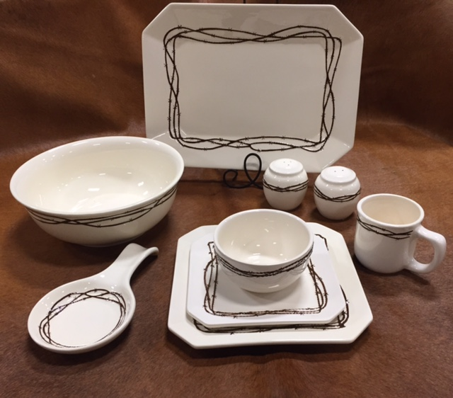 Barbwire Dinnerware