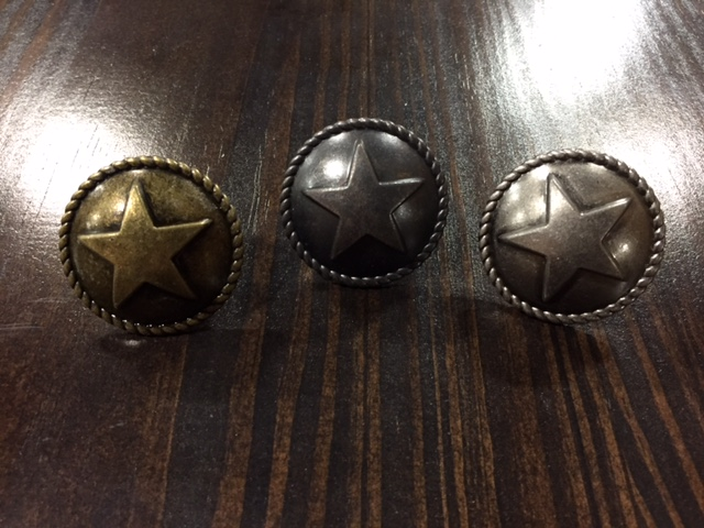 Star Button Cabinet Knobs