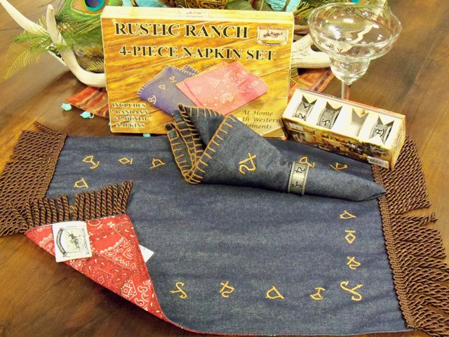 Rustic Ranch Denim and Bandana