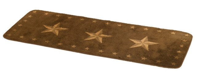 Rustic Star Bath,Kitchen Rug