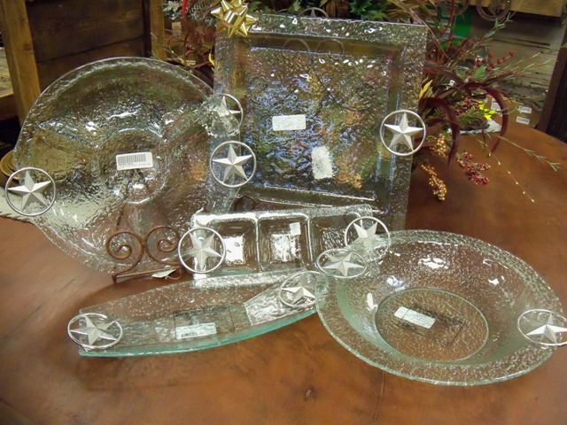 Star Glass Serving Set