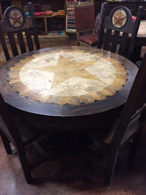 Stone Top Dinning Room Table