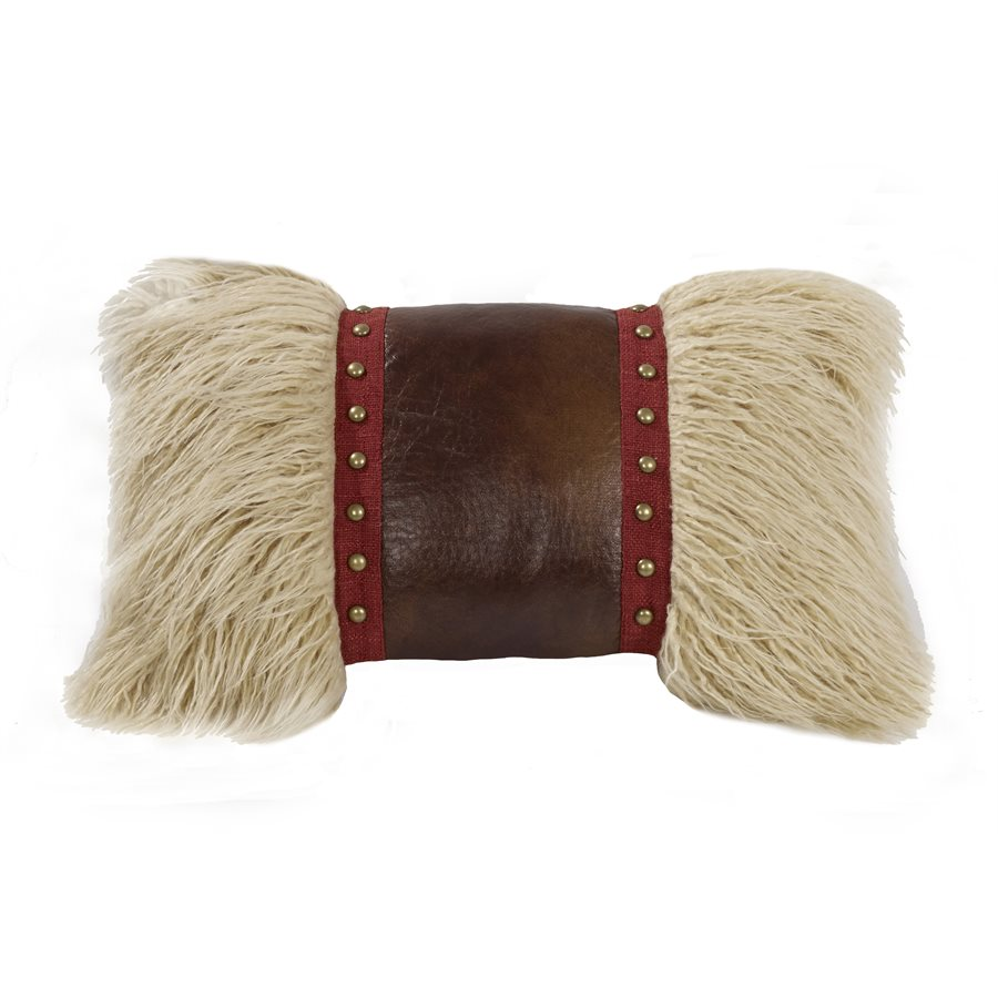 Ruidoso Fur Pillow