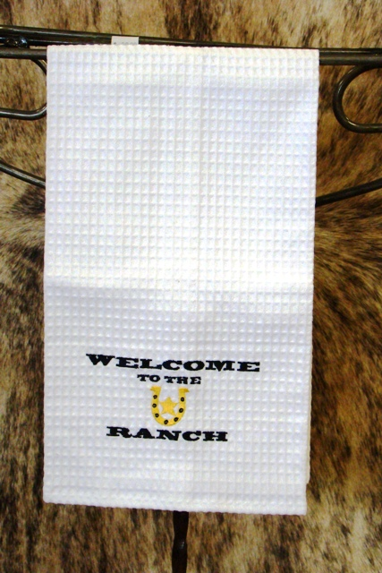 Welcome to the Ranch Kitchen Towel