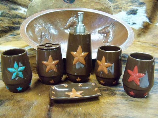 Rustic Star Bath