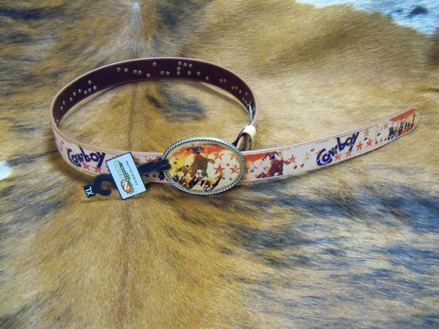 Ladies Cowboy Bling Belt