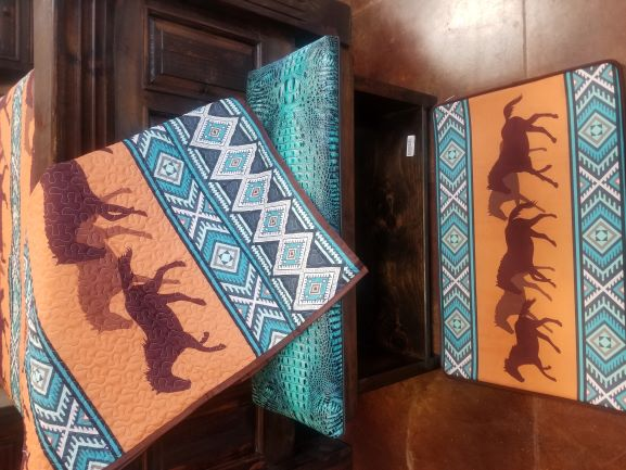 Southwest Running Horse Quilt Collection