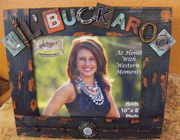 Lil Buckaroo photo frame