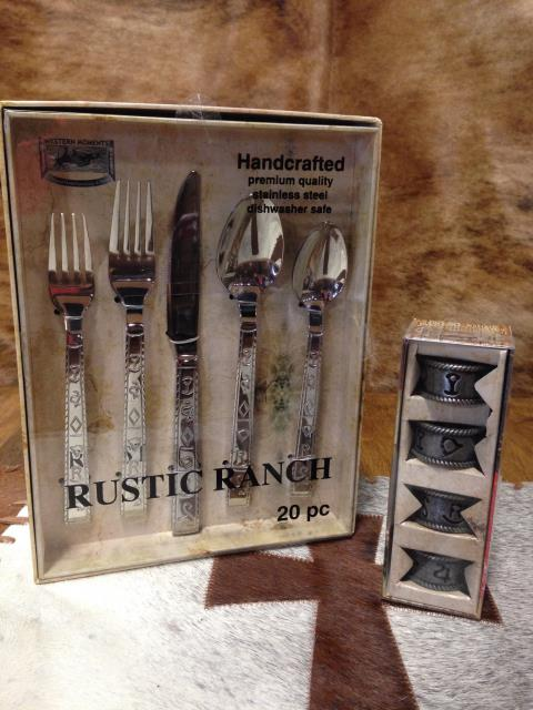 Rustic Ranch Napkin Rings
